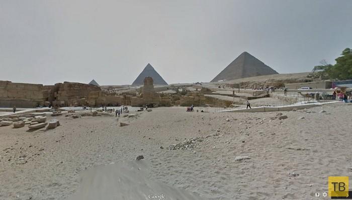 Топ 10: Самые интересные и труднодоступные места, где можно побывать при помощи Google Street View (27 фото)
