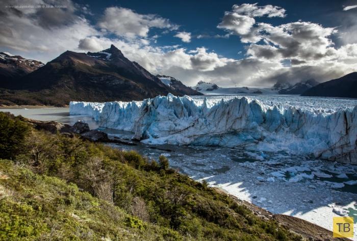 Живой лёд - ледник Перито Морено в Аргентине (18 фото)
