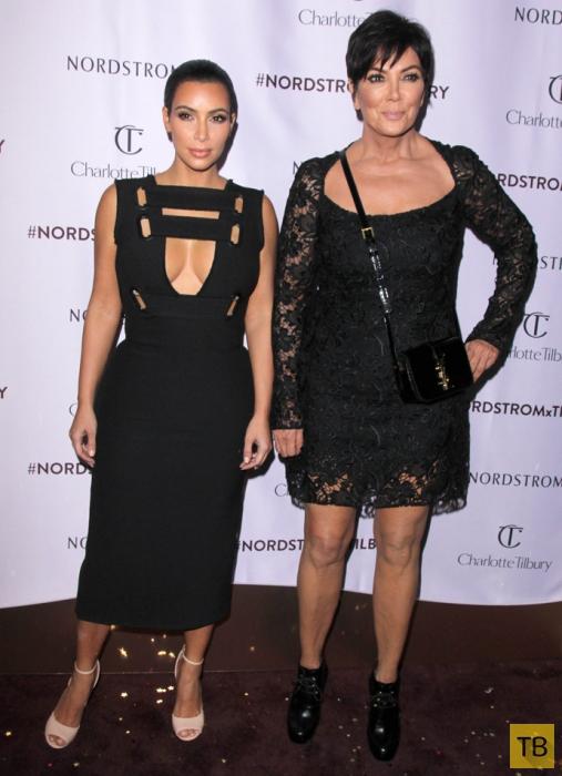 Ким Кардашьян и ее мама (14 фото + видео)