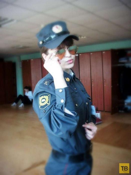 Девушки в Российской полиции (29 фото)