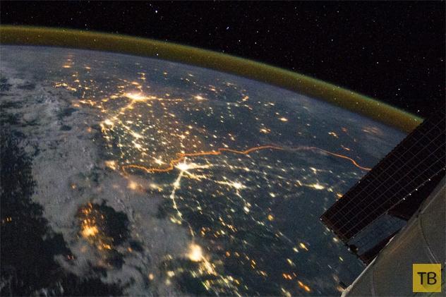 Топ 10: Явления, которые можно увидеть из космоса (10 фото)
