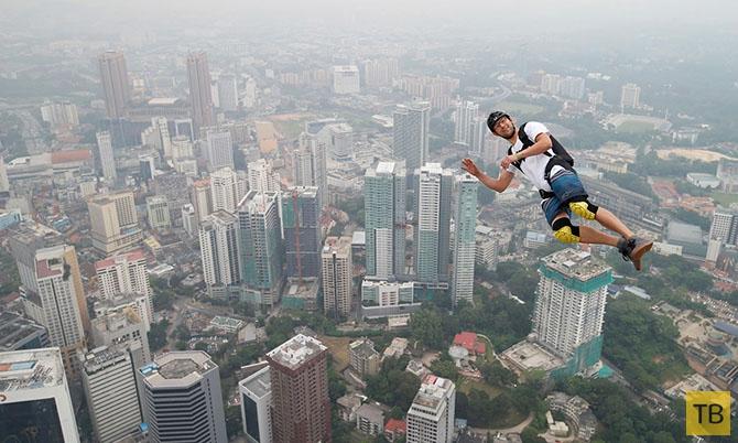 Топ 10: Опасные виды спорта (10 фото)
