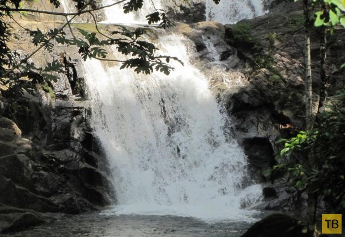 Водопад Лампи - один из самых популярных водопадов в Таиланде (9 фото)