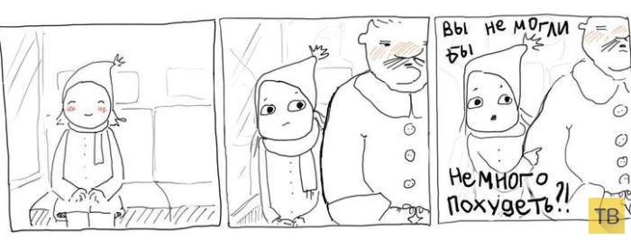 Веселые комиксы и карикатуры, часть 212 (22 фото)