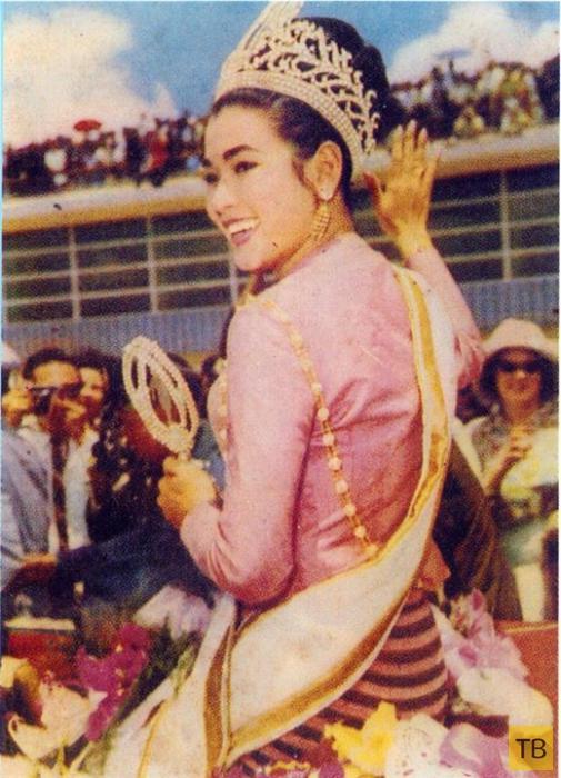 """Насколько изменилась """"Мисс Вселенная"""" 1965 года за прошедшие полвека (14 фото)"""