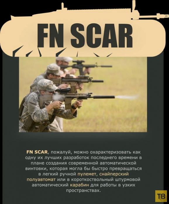 Штурмовая винтовка FN SCAR (7 фото)
