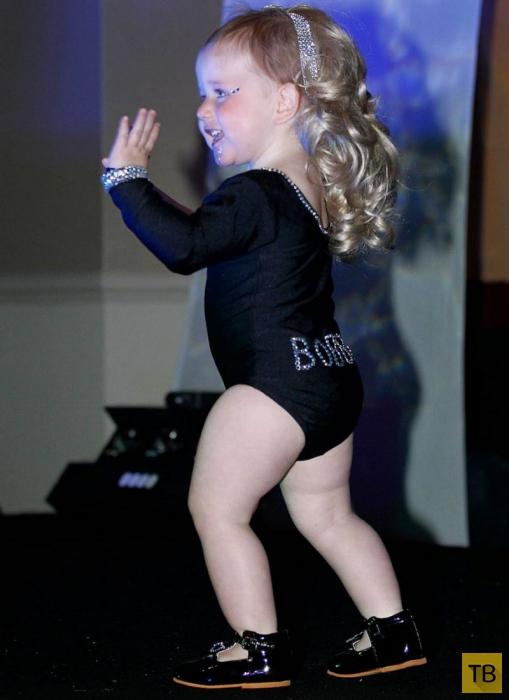 Полуторагодовалая 'Бейонсе' стала звездой конкурсов красоты (21 фото)