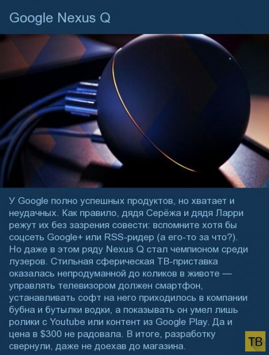 Топ 9: Продукты IT-индустрии, которые с треском провалились (9 фото)