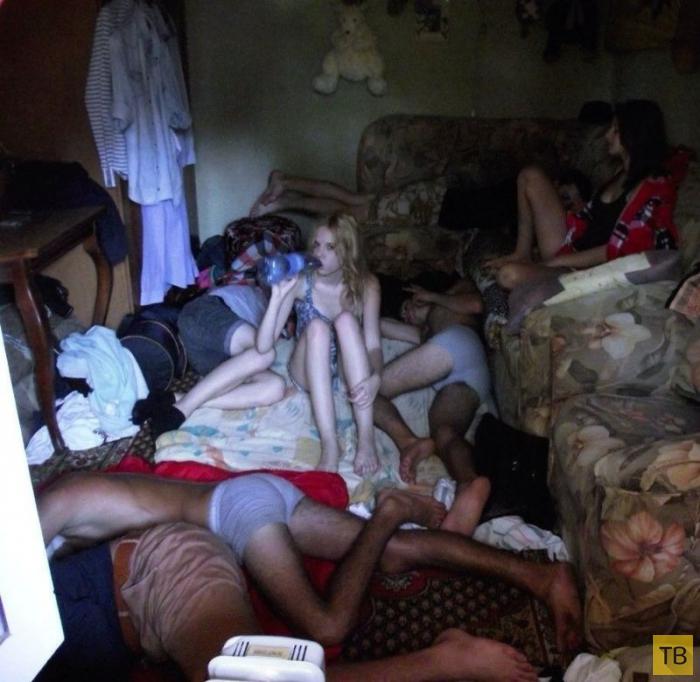 фото голых пьяных девушек из соцсетей