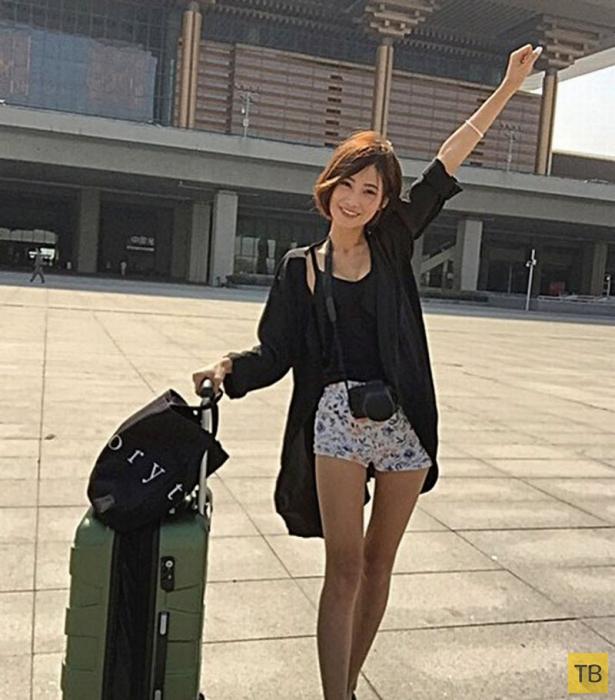 19-летняя китаянка собирается в секс-путешествие без гроша в кармане (5 фото)