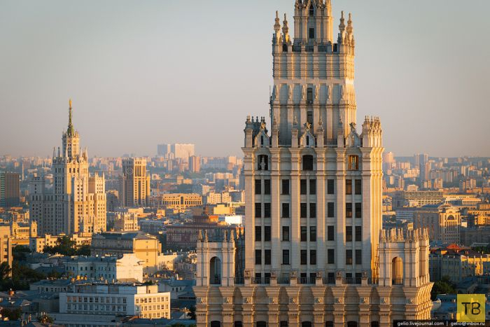 Москва с высоты птичьего полета (66 фото)