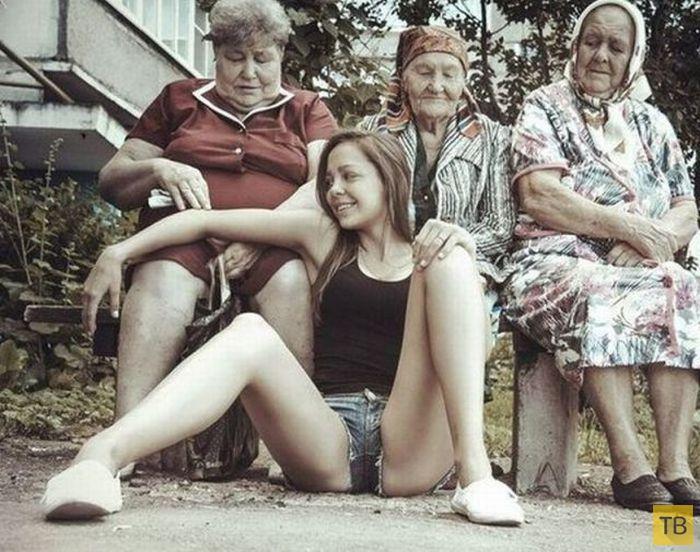 (18+) Пошловатые картинки для взрослых, часть 15 (41 фото)