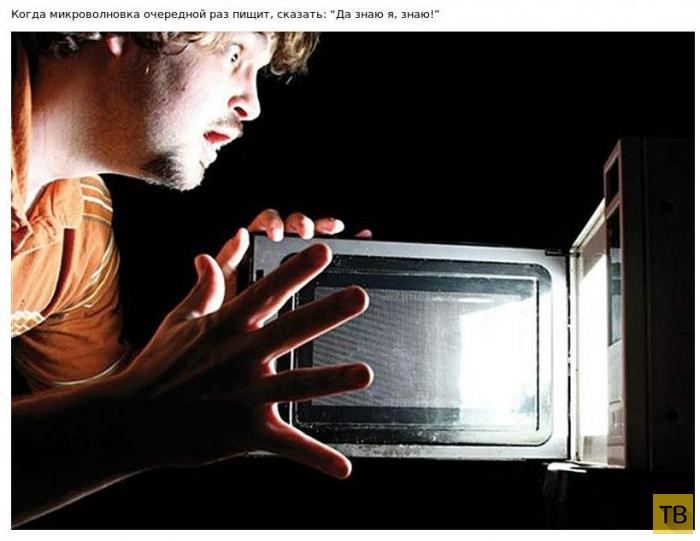 Топ 13: Бессмысленные вещи, которые делает каждый из нас (13 фото)