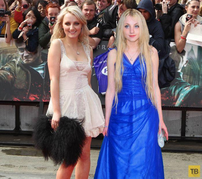 Актеры из фильма «Гарри Поттер» тогда и сейчас (9 фото)