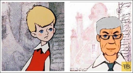 Фантазия на тему какими бы могли быть герои старых мультиков сейчас (9 фото)
