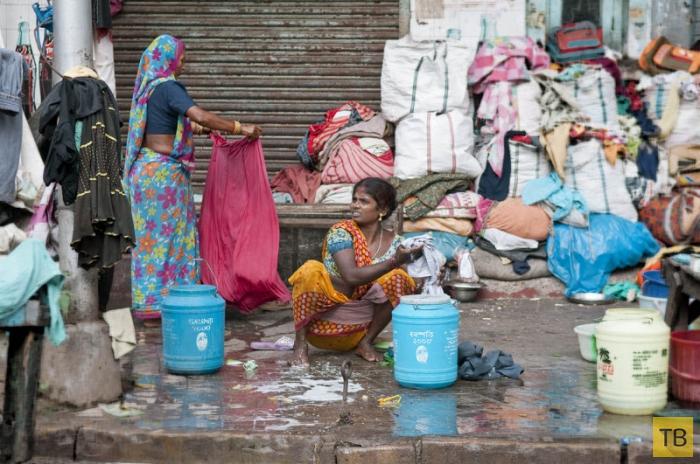 Нищета и радость: Повседневная жизнь в Калькутте (28 фото)