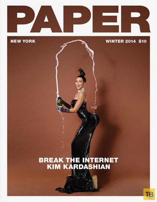 «Фотожабы» на свежее фото Ким Кардашьян (22 фото)