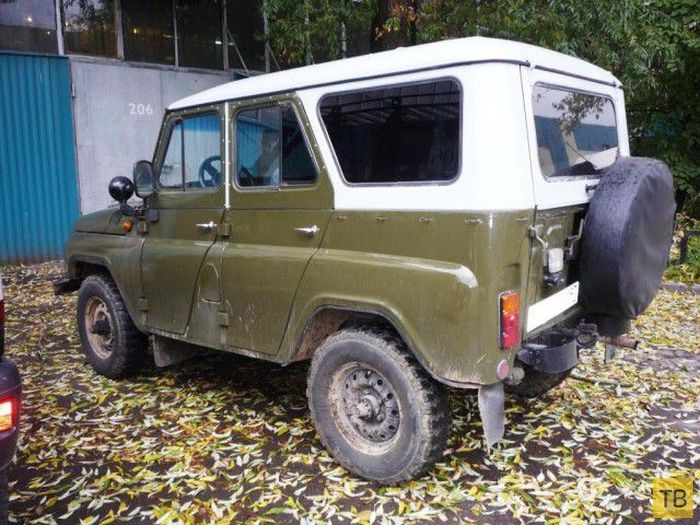 Новая жизнь УАЗа 1978 года выпуска (24 фото)