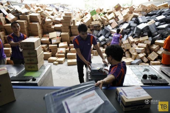 Почта Китая (15 фото)