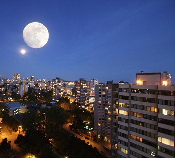 Отличные фотографии луны