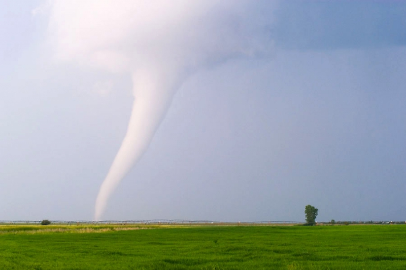 Торнадо и необычные природные явления