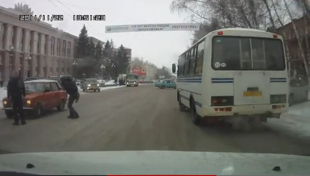 Сбили пешехода г. Томск
