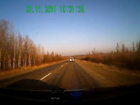 Авария на трассе Хабаровск - Комсомольск на Амуре