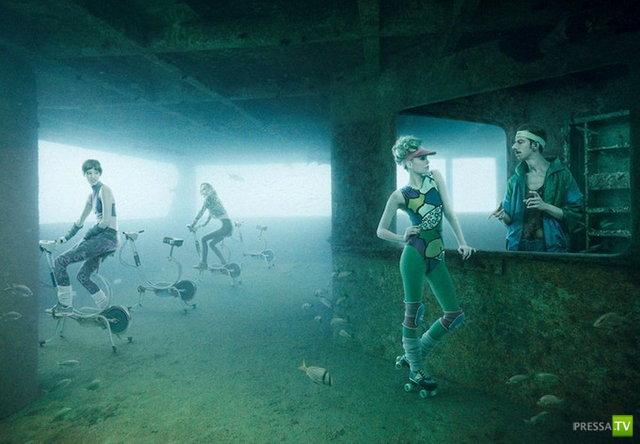 Удивительные снимки фотографа и водолаза Andreas Franke