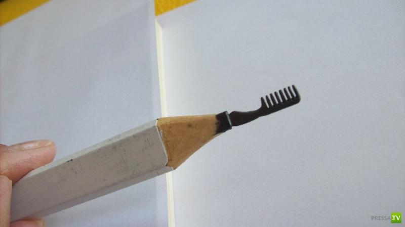 Искуство из карандашного грифеля (14 фото)
