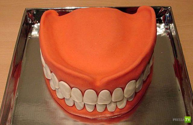 Подборка очень креативных тортов (27 фото)