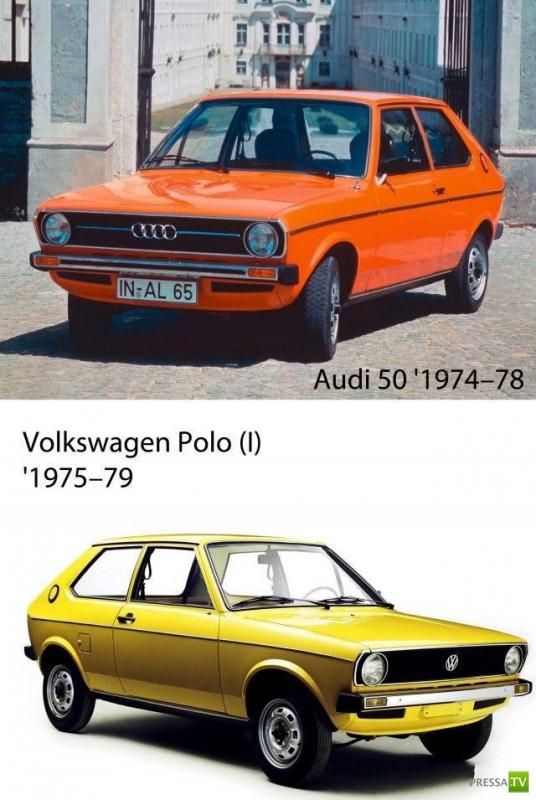 Автомобили близнецы (29 фото)