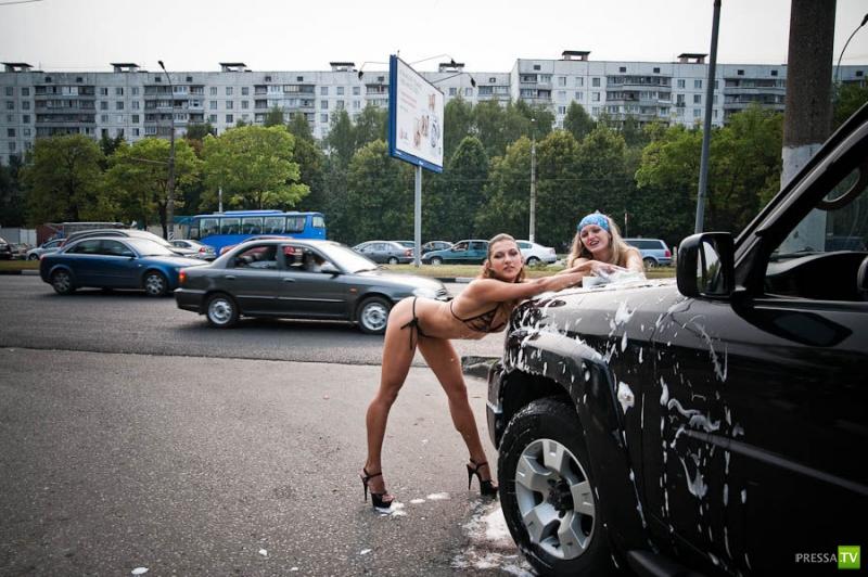 Как вам такая Автомойка? (25 фото)