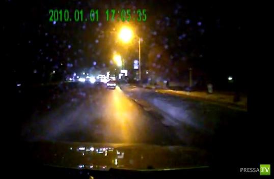 В Мичуринске сотрудник полиции сбил пешехода