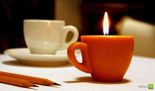 Необычные свечи (29 фото)