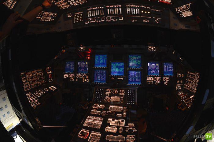 Шатл Atlantis изнутри (12 фото)