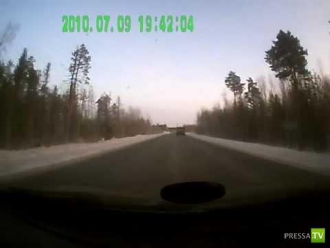 Авария на трассе Сургут-Нижневартовск