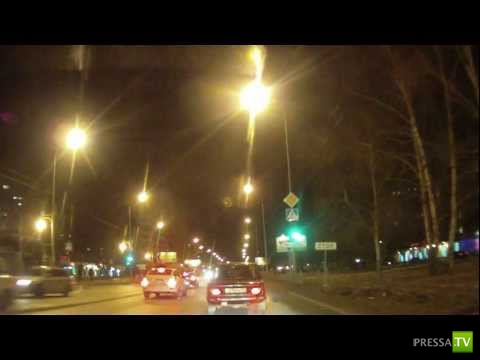 Авария на ул. Харьковская г. Тюмень