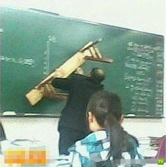 Крайне суровые китайские преподаватели (8 фото)