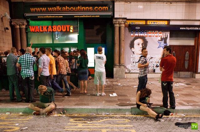 Прогулка по пьяному Лондону o_O (56 фото)