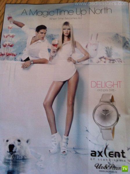 Ляпы Фотошоперов в рекламе за 2011 год (40 фото)