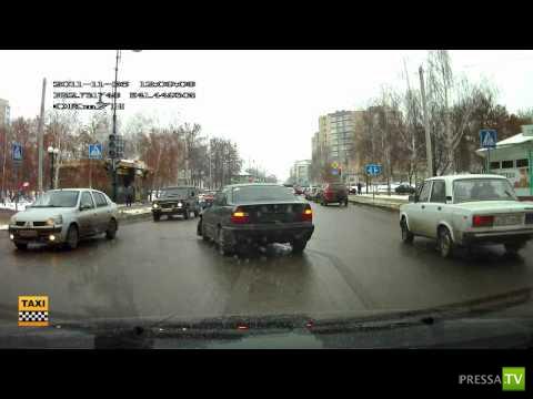 Авария на перекрестке г. тамбов ул. Карла Маркса