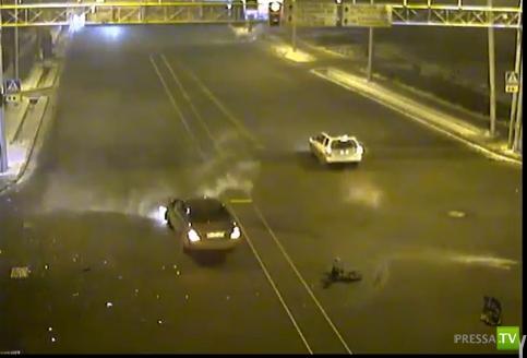 Первая авария 2012 года в г. Алматы Казахстан