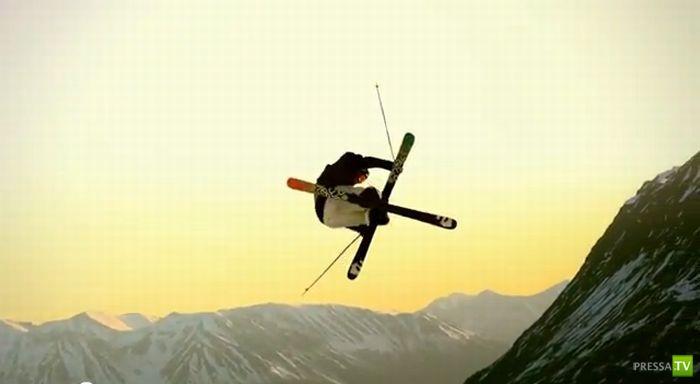 Подборка экстримальных прыжков в спорте