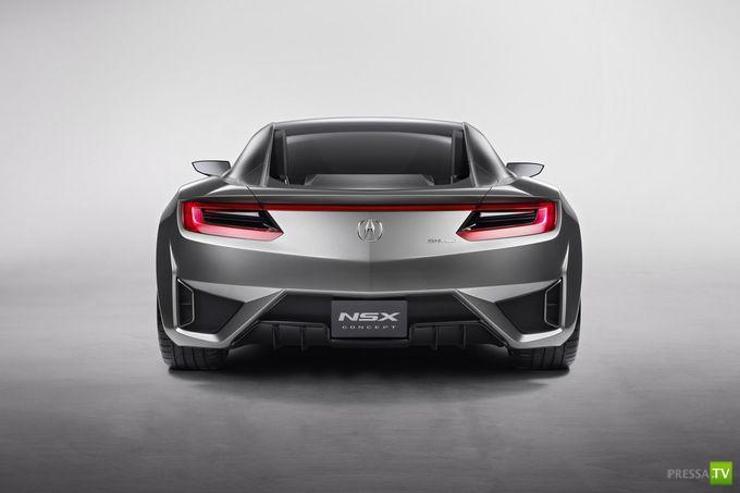 Концепт суперкара Acura NSX (13 фото)