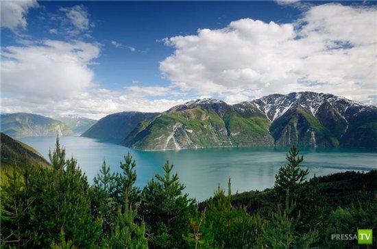 Фьорды Норвегии (21 фото)
