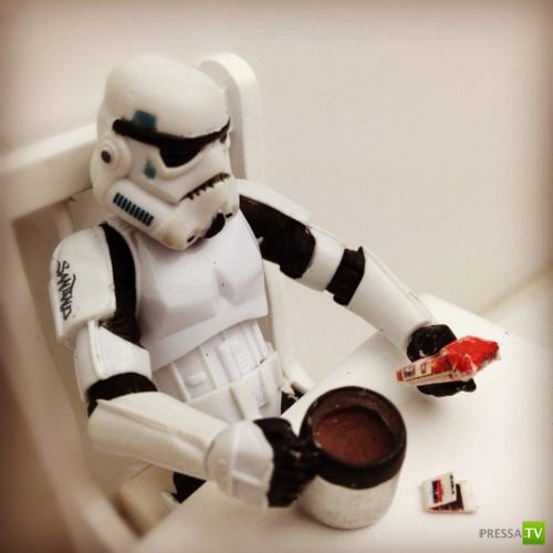 Будни имперских солдат (Star Wars, 22 фото)