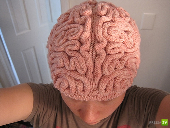 Креативная шапочка (2 фото)