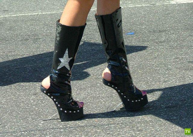 Нереальная обувь (22 фото)
