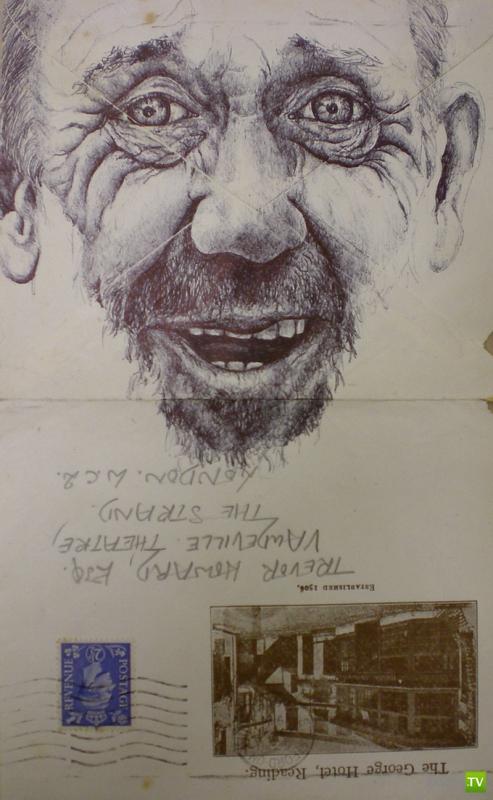Рисунки на конвертах Марка Пауэлла (16 фото)