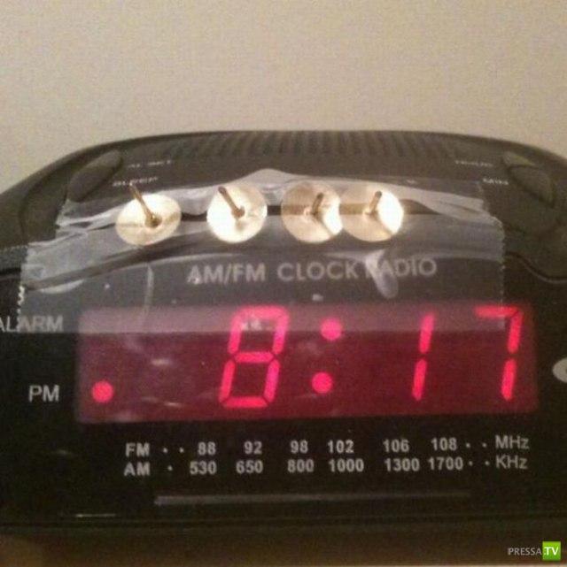 Будильник для тех кто плохо просыпается